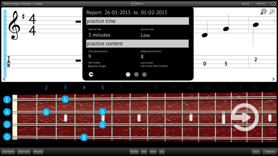 Features - Purely Mandolin Software Application Specification