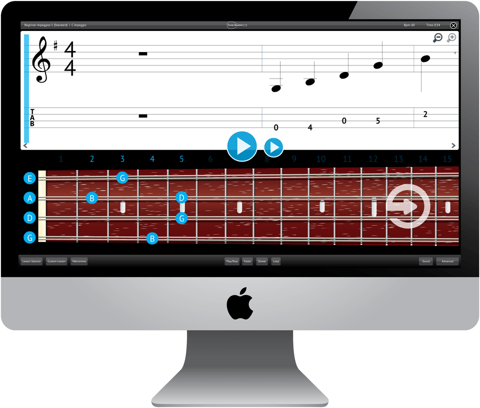Purely Mandolin Software Application
